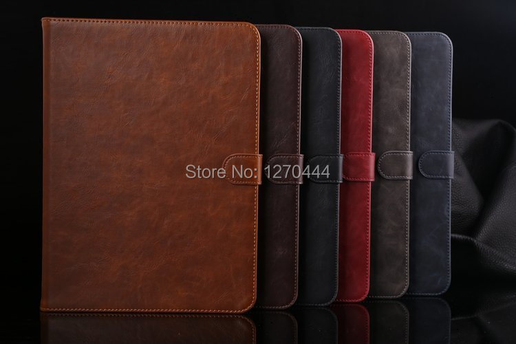 For Samsung tab4 10.1 Crazy horse flip leather Case Cover For Samsung Galaxy Tab4 10.1 T530 T531 T535 Book Cover+Pen+Film+OTG<br><br>Aliexpress