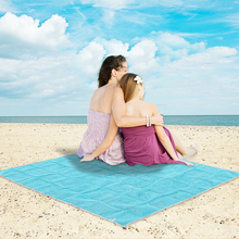 Sand Free Mat Blanket Camping Mat Outdoor Picnic Camping Cushion Beach PVC Foldable Mattress 4 Colors