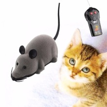 NEW Hot sale Wireless Remote Control High quality RC Electronic Rat Mouse Mice Toy For Cat Puppy Gift Free shipping
