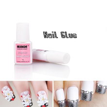 1pcs 7g Strong Viscosity Nail Glue For False Nail Tips Acrylic Nail Decoration with Brush For UV Gel Nail Polish