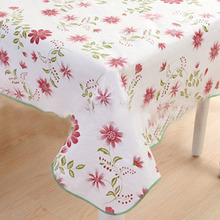 Multifunctional Flower Waterproof Oilproof Printed Table Cloth Home Dinner Tablecloths Tables Cover Wedding Party Decoration(China)