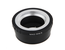 M42 Screw Mount Lens to Micro 4/3 M4/3 Camera Adapter for Olympus Panasonic GF3 EPL3 EPM2 EP2 GH4 GH3(China)