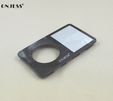 Black Plastic Front Housing Case Cover Shell with Lens for iPod 5th gen Video 30GB 60GB 80GB(China)