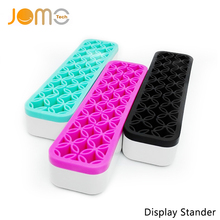 Universal Multifundition Display Stand Silicone Electronic Cigarettes Vaporizer Pen Tool Box Mod E-cigarette Accessory Jomo-225(China)