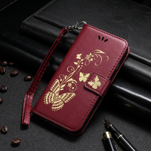 Butterfly Flip PU Leather Cases For Huawei P9 Lite P9 Mini G9 G9 Lite VNS-L21 VNS-L22 VNS-L23 Covers Wallet Bags Card Slot Back