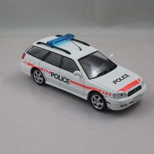 DEA PRC 1:43 Police SUBARU LEGACY 1998 Model Cars Collection Diecast Children's Toys Gifts(China)