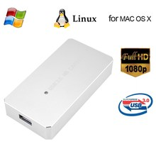 ezcap287P USB 3.0 HD Capture Card Video Game Recorder 1080P Live Streaming Converter Plug and Play for XBOX PS3 PS4 WII U Silver(China)