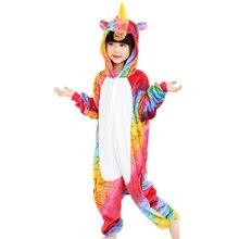 6e5cf8dbc3969 Bébé garçons filles pyjamas automne hiver enfants flanelle chaud animal  pingouin point panda Onesie vêtements de