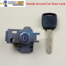 Best Quality For Honda Accord Car Door Lock Replacement With Key Front Left car lock Central door lock free shipping(China)