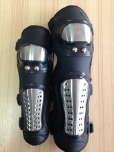 Motorcycle Knee protector Stainless steel knee pad and elbow pad for adult and child(China)