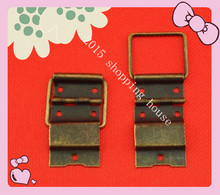 Antique wooden box  iron hinges 24MM*46MM connecting wire hinge Door Hinges hardware accessories