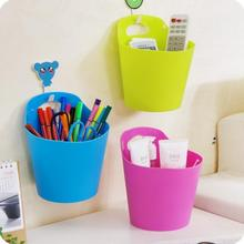 Japan Style Hanging Storage Bucket Multifunctional Plastic Bucket 3 Pieces/Lot Hanging Small Basket Storage
