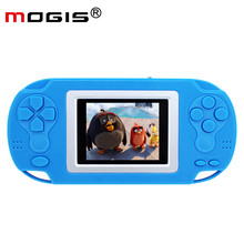 2018 Hot Childhood MOGIS M360 Portable Pocket Handheld Game Player Game Console 2.4 Inches LCD 218 8-Bit Classic Edition Games(China)