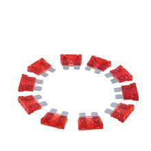 New 50pc 10A Auto Car APS ATT ATM Mini Blade Assorted Fuses Kit Suitable for cars, motorcycles ,home, industrial applications(China)