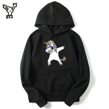 BTS Animal Dog Print Sweatshirt Hoodies Men and women Hip Hop Funny Autumn Streetwear Hoodies Sweatshirt For Couples Clothes(China)