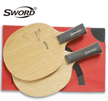[Playa PingPong] Sword DAY FURY 7 Ply Pure Wood Table Tennis Blade Racket  for Ping Pong Bat