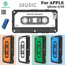 NILLKIN Music Era cassette player tape Case Cover for iPhone 6 6S Plus 4.7 5.5 inch
