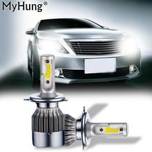 Newest Led For Toyota Camry 2006 To 2017 Car Led Light Car Headlight  Front Fog Lights High Beam Light White Car Styling 2PCS