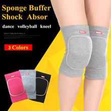 1 Pair Volleyball Knee Pads Dance Football Skate Knee Brace Protector Sports Safety Kneepad Training Knee Support(China)