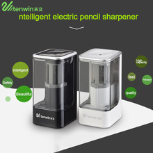 Portable Size Top Quality TENWIN 8006 Intelligent Smart Electric Pencil Sharpener Home School Office Desktop Pencil Sharpener