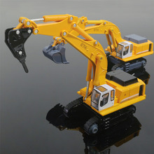 Caterpillar Excavator Digging Car alloy Original Factory Simulation Truck Models 1:87 Children Toy  Birthday Christmas Gift