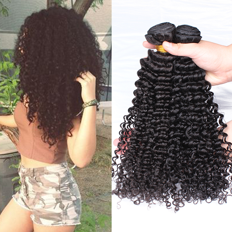 Grade 7A Virgin Malaysian Kinky Curly Hair Weave 2 Bundles Malaysian Virgin Hair Human Hair Extension Rosa Queen Hair Products<br><br>Aliexpress