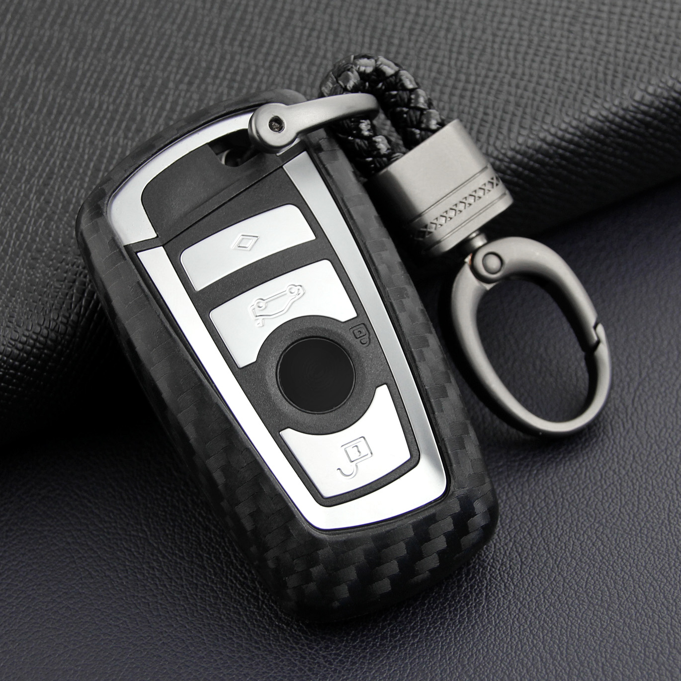 Car Key Case Cover ABS Fit For BMW 1 2 3 4 5 6 7 M5 M6 Series X3 X4 GT3//5