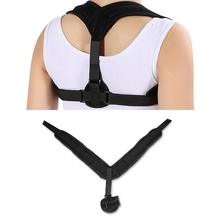 Adjustable Clavicle Posture Corrector Shoulder Brace Upper Back Posture Correction Corset Spine Support Belt For Women Men(China)