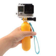 Buy Bobber Floating Mount Floaty Hand Grip Bobber Monopod Handle Selfie Stick Go Pro GoPro Hero 2 3 3+ 4 Xiaomi Yi Accessories for $2.97 in AliExpress store
