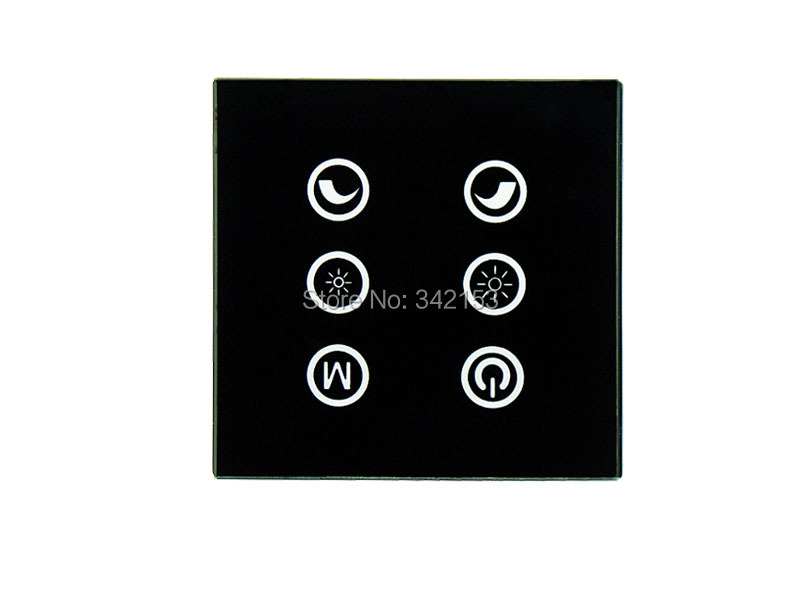 Promotion 3 Channels 6 Key Button LED Touch Panel Dimmer Controller DC 12V-24V For RGB LED Strip Light Free Shipping<br><br>Aliexpress