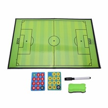 Foldable Football Soccer Coach Board Champion Tactics Football Referee Soccer Match Tactical Training Board Kit(China)