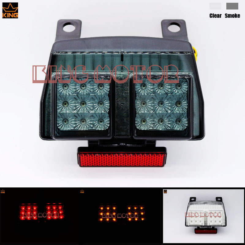 Motorcycle Accessories Integrated LED Tail Light Turn signal Blinker Smoke For DUCATI 748/916/996 1994-2003 998/998R 2002-2004<br>