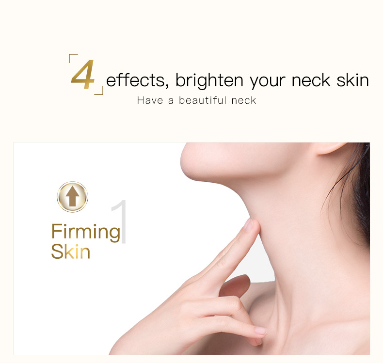 100g Six Peptides Neck Cream Anti Wrinkle Remove Neck Mask Whitening Firming for Neck Skin Care Delicate and Slippery 7