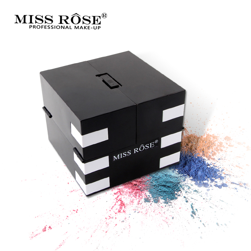 Miss Rose 142 Color Matte Eye Shadow Palette Glitter Waterproof Shimmer Eyeshadow Brighten Long Lasting Luminous Makeup Natural<br>
