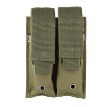 Close-Holster Magazine-Pouch Hunting-Combat Double-Pistol Nylon Tactical 9mm Dual