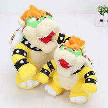 17-22cm Super Mario Bros Bowser Plush Figure Soft stuffed Doll new Super Mario toy(China)