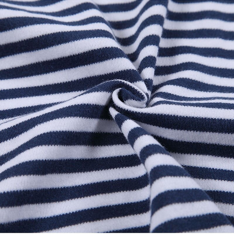 Baby Boys Girls Long Sleeve Rompers 2016 Autumn and Winter Newborn Boys Striped Jumpsuit Infant Baby Clothing Retail (6)