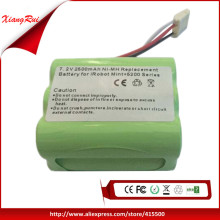 Free Shipping Replacement Battery For Mint plus 5200 5200C And For Robot Braava 380t 2500mAh 7.2V NI-MH New(China)