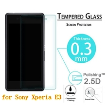 9H Premium Tempered Glass For Sony Xperia E3 Screen Protector Film For Sony E3 Dual D2212 D2203 D2206 D2243 D2202 D 2212 2203