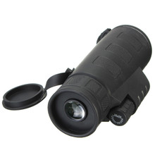 HandHeld Adjustable 35x50 Monocular Phone Camera Lens Night Vision Telescope Sports Camping Optic Lens with Strap Black Portable