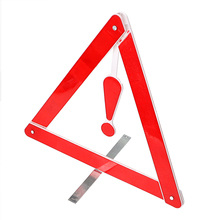 Reflective Stop Sign Portable Folding Car Emergency Tripod Safety Warning Triangles Car-styling Traffic Warning