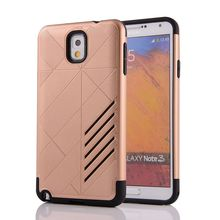 High Quality Armor Shockproof Soft Silicon Hard PC Combo Cover For Samsung Galaxy Note 3 N900 N9000 N9005 Case Capa Funda Coque