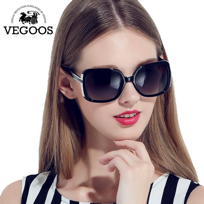 VEGOOS Luxury Brand Designer women Retro Round Sun Glasses Gafas De Sol Metal Temples Sunglass Lunettes Oculos De Sol #9018<br><br>Aliexpress
