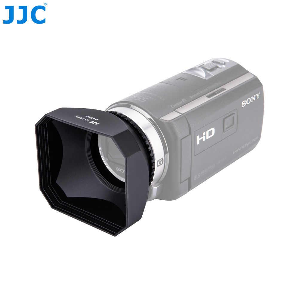 37-58mm Square Shape Lens Hood Retro Camera Accessories Universal Protective DV Lens Hood with Screw Mount Camera Lens Hood