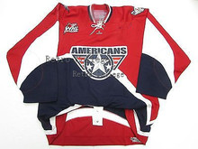 Tri City Americans WHL RED HOCKEY JERSEY SIZE XXS-6XL Hockey Jersey Embroidery Stitched Customize any number and name Jerseys(China)
