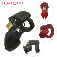 Buy Male Chastity Device,Cock Cages,Men's Virginity Lock Penis Ring,Penis Lock,Adult Chastity lock,Cock Ring,Chastity Belt/Lock O2
