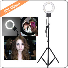 28W Ring Lamp Light+ Stand for Make up Video Photo DSLR SLR Camera