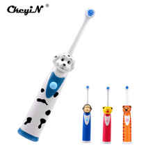 Buy CkeyiN Cartoon Sonic Electric Toothbrush Ultrasonic Toothbrush Oral Waterproof Children Kid Teeth Brush Tooth+2Pc Brush Head for $7.76 in AliExpress store
