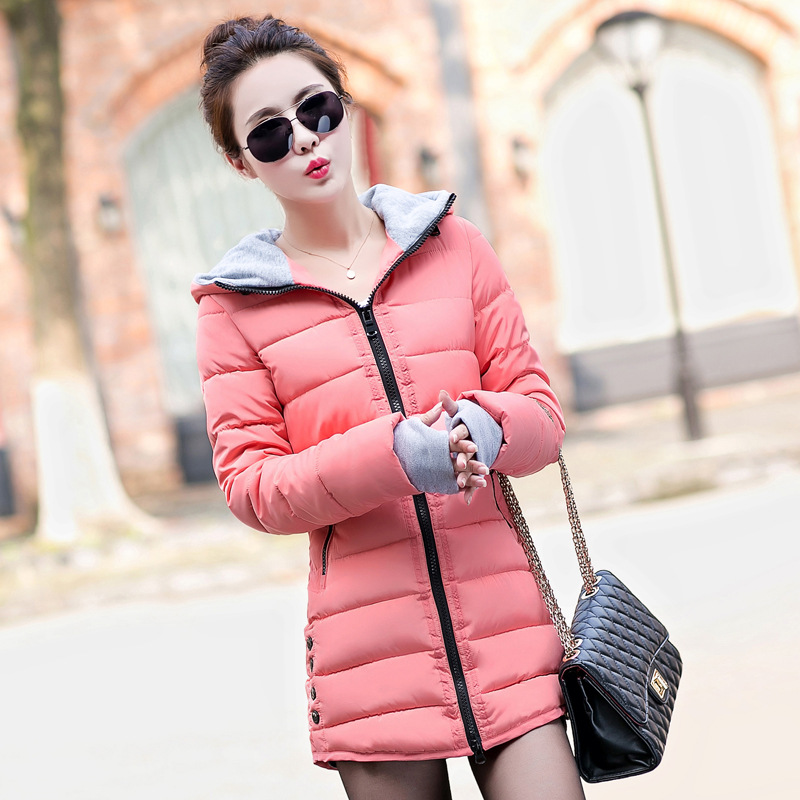 Parkas Mujer Invierno 2017 Winter Jacket Women Cotton Parka Lady Hooded Coats Jaqueta Feminina Winter Coat Women FB6024Одежда и ак�е��уары<br><br><br>Aliexpress