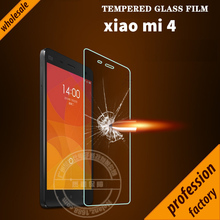 Wholesale price 2.5D round edge 9H Tempered Glass Screen Protector for Xiaomi Mi 4 Mi4 Film anti-oil, anti fingerprint(China)
